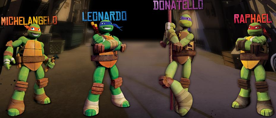 ninja turtles namen