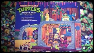 TMNT Sewer Playset 1989 Toy Commercial (REMAKE 2017)
