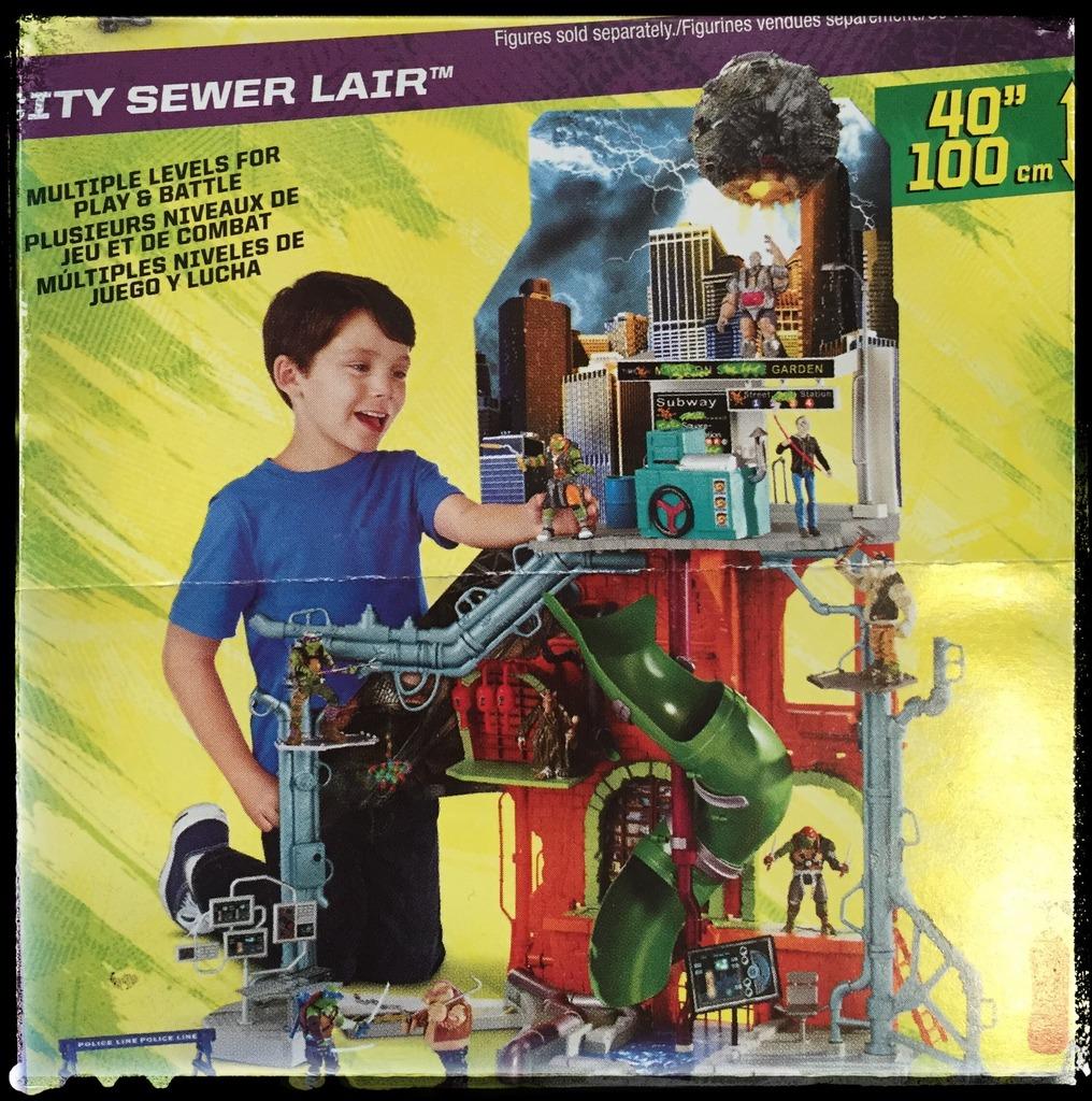 teenage mutant ninja turtles secret sewer lair playset instructions