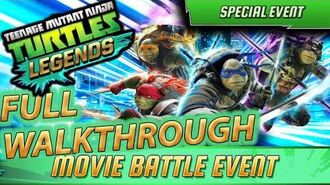 EVENT FULL RUN TMNT Out of the Shadows - Teenage Mutant Ninja Turtles Legends