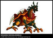 Dragon Michelangelo