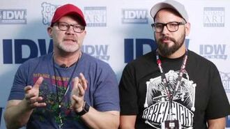 IDW Creators - Tom Waltz and Mateus Santolouco TMNT