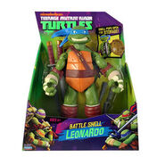 Tmnt 2012 leonardo battle shell
