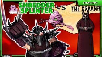 Shredder and Splinter vs Kraang. Teenage Mutant Ninja Turtles Legends (TMNT Legends)
