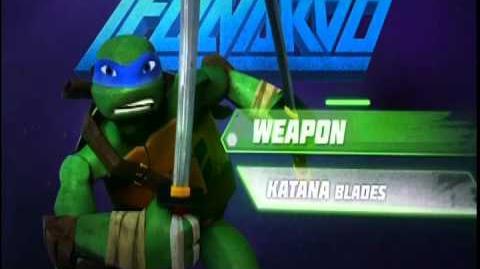 Meet TMNT's Leonardo Nickelodeon
