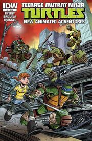 Idw new tmnt adventures