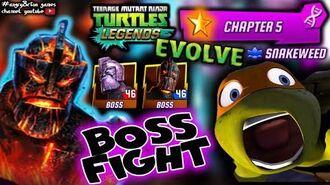 TMNT Legends BOSS FIGHT Chapter 5 TMNTLegends Gameplay 26