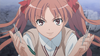 Shirai Kuroko with her nails.