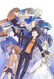 Toaru Majutsu no Virtual On LQ cover