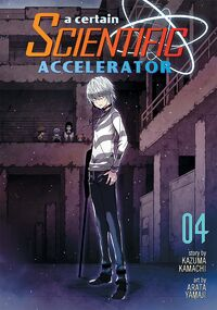 A Certain Scientific Accelerator Manga v04 Cover