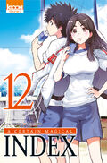 A Certain Magical Index Manga v12 French cover