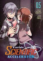 A Certain Scientific Accelerator Manga v05 Cover