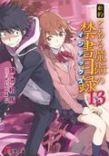 Shinyaku Toaru Majutsu no Index Light Novel v13 cover