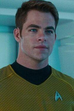 Captain James T. Kirk ar