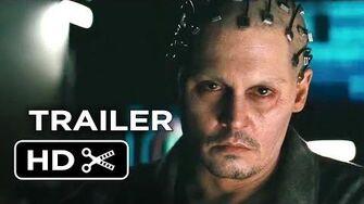Transcendence Official Trailer 1 (2014) - Johnny Depp Sci-Fi Movie HD
