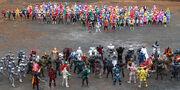 All Super Sentai and All Kamen Riders