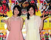 Yui Koike and Mao Ichimichi Super Hero Max 2012