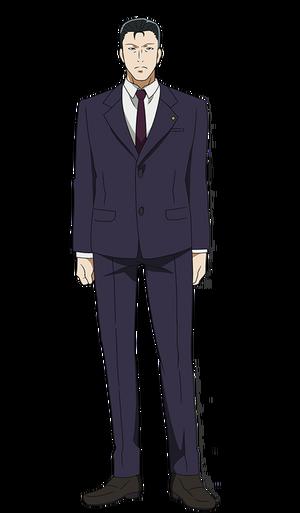 Kousuke Houji anime design front view