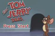Tom and Jerry Tales GBA Title screen