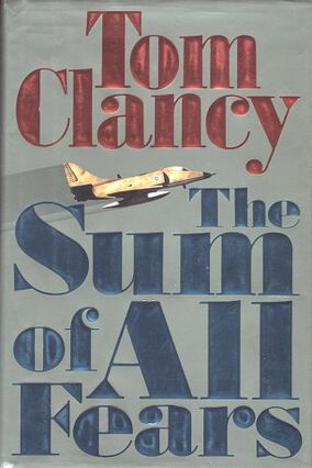 The Sum of All Fears Novel Cover