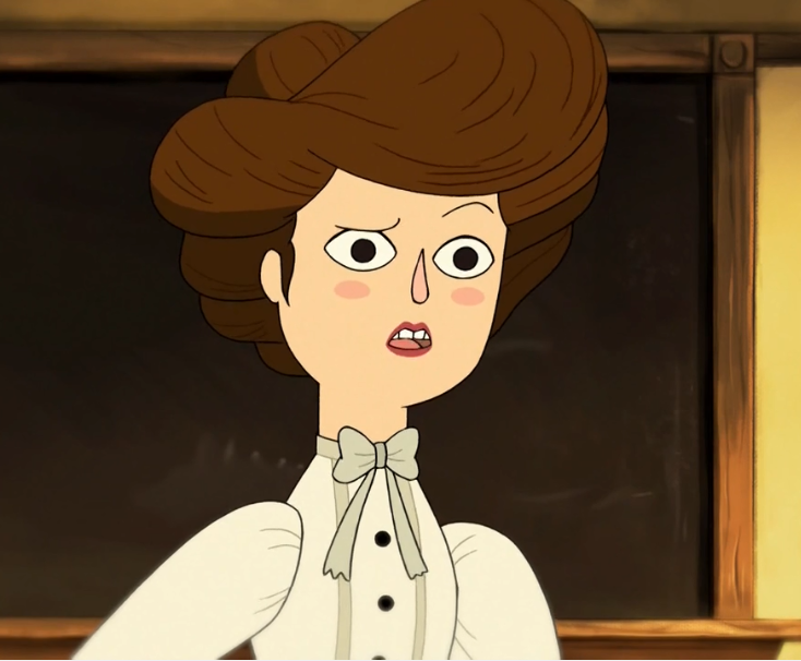 Miss Langtree Over The Garden Wall Wiki Fandom Powered By Wikia