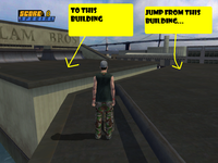 The Buildings to jump