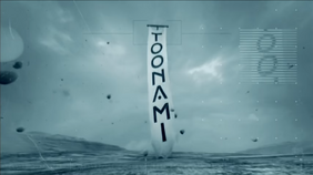 Toonami on-screen logo 2016