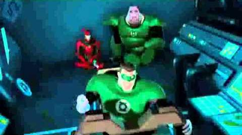 Green Lantern The Animated Series Toonami Asia Promo