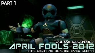 Toonami 2012 April Fools Hodgepodge Part 1