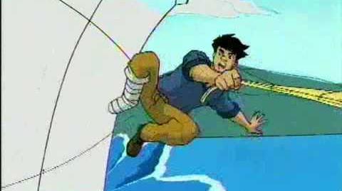 Jackie Chan Adventures Mini Toonami intro