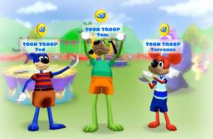 Meet the Toon Troop