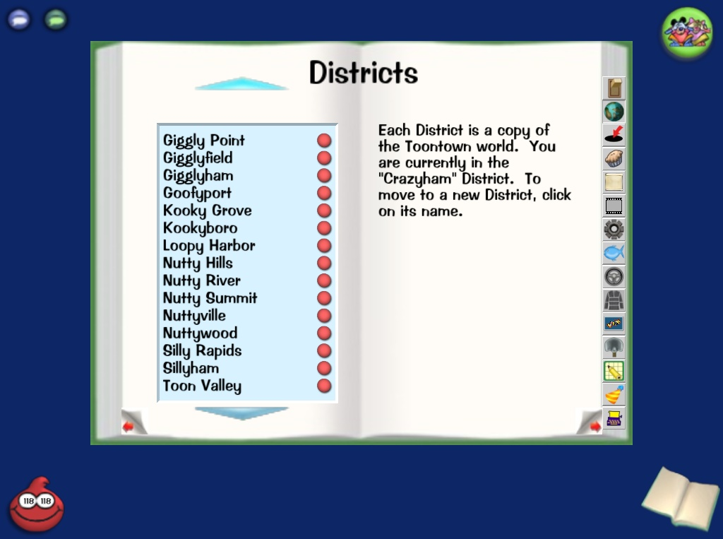 Image all districts full toontown wiki for Toontown fishing guide