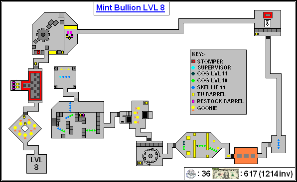 Mint Maps - Bullion Lvl08