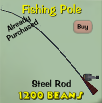 Steel rod toontown wiki fandom powered by wikia for Toontown fishing guide