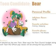 Nominee bear