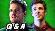 Arrow Season 3 and The Flash Q&A - Flarrow and Atom Powers