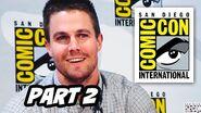 Arrow Season 3 Comic Con 2014 Panel - Part 2