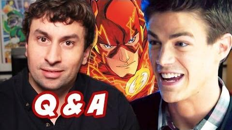 Ask Emergency Q&A - Grant Gustin Flash TV Show Edition