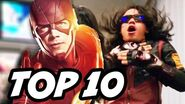 The Flash Season 3 Episode 11 - The Flash Supergirl Crossover TOP 10 and Easter Eggs