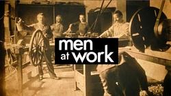 Men at Work intertitle