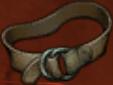 Armor leather belt