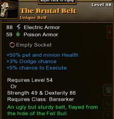 The Brutal Belt