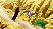 Ichiryuu stopping Mansam's punch