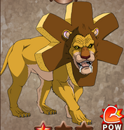 Caste Leo card Gourmet Battle