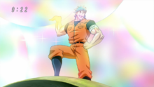 Toriko getting Rainbow Fruit