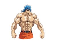 Toriko without shirt