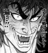 Toriko scares Baron Tiger