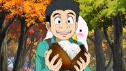 Komatsu finding Chestnutrice Balls