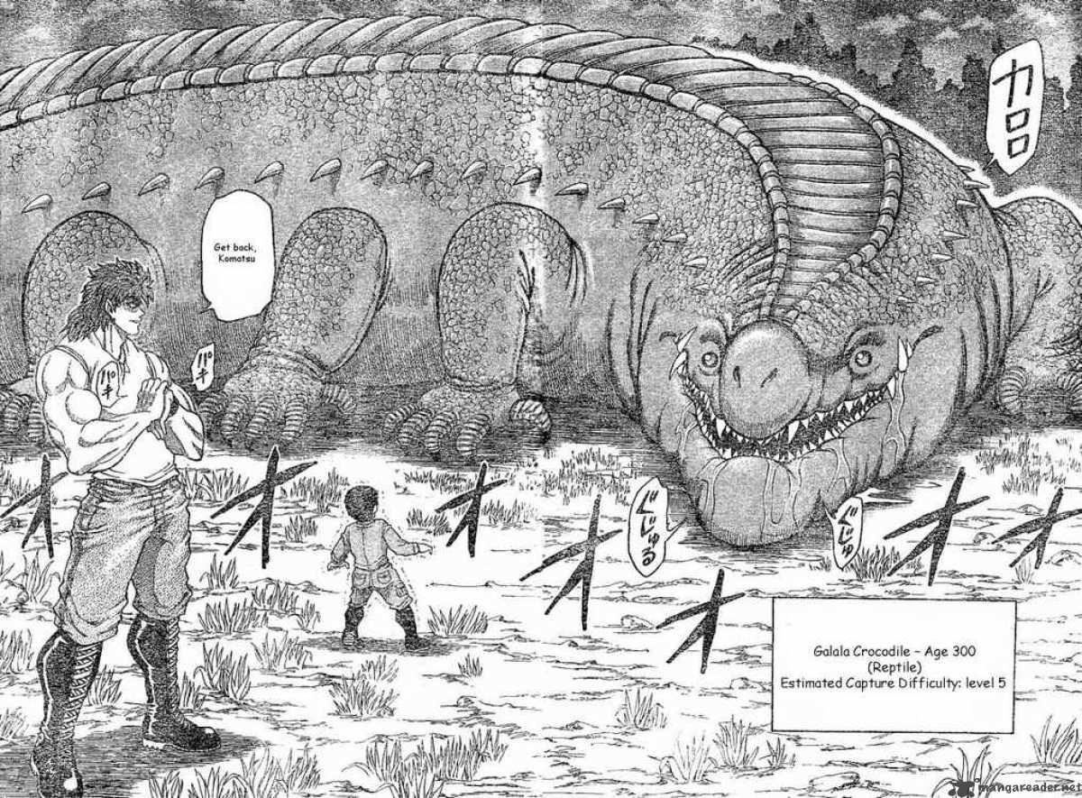 Gon The Dinosaur Vs Toriko