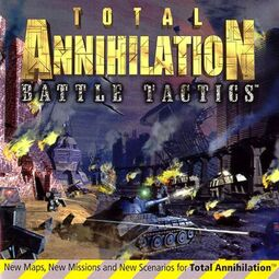 Total Annihilation - Battle Tactics Front Cover